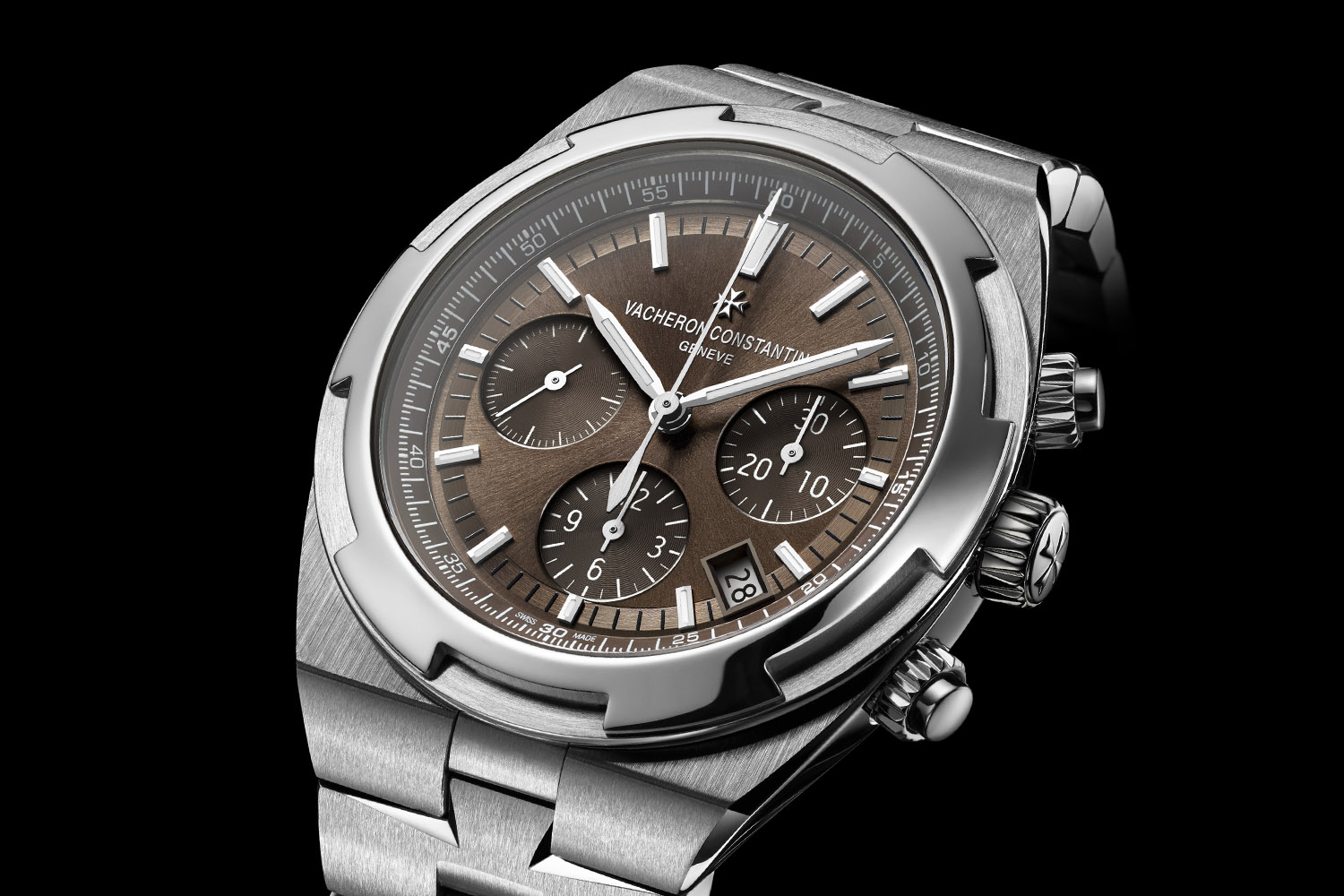 Vacheron Constantin Overseas chronograph 5500v - brown dial - 2