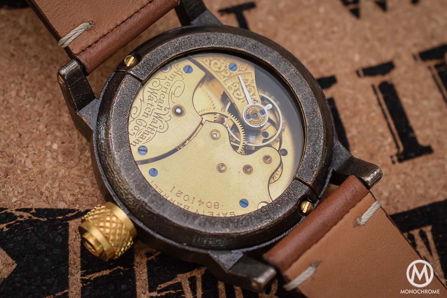Vortic Watch Co - antique movements and 3D printed cases - 2