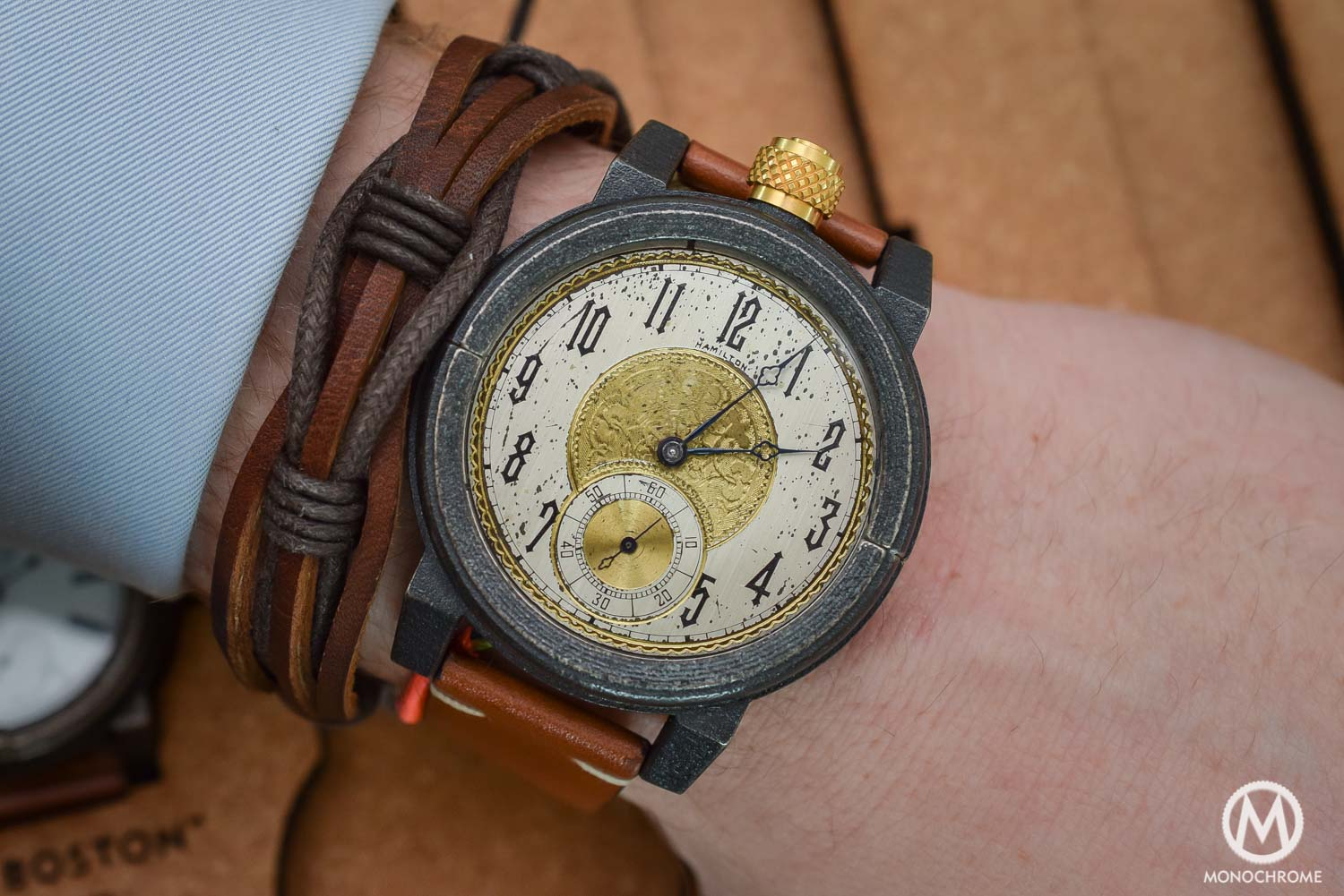 Vortic Watch Co - antique movements and 3D printed cases - 6