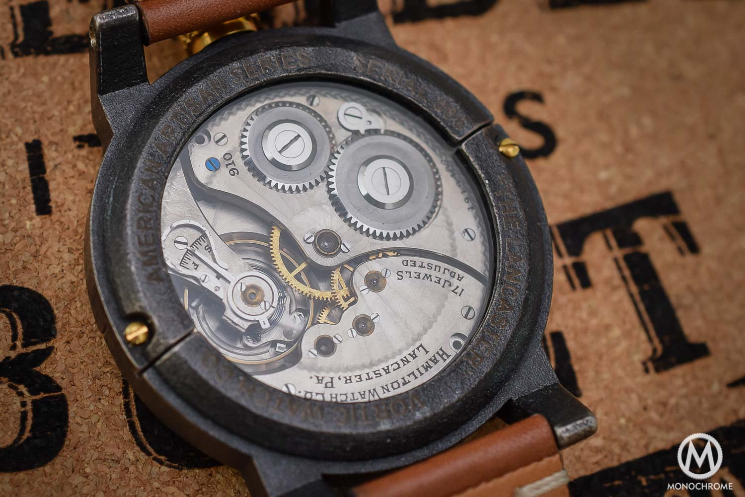 Vortic Watch Co - antique movements and 3D printed cases - 7