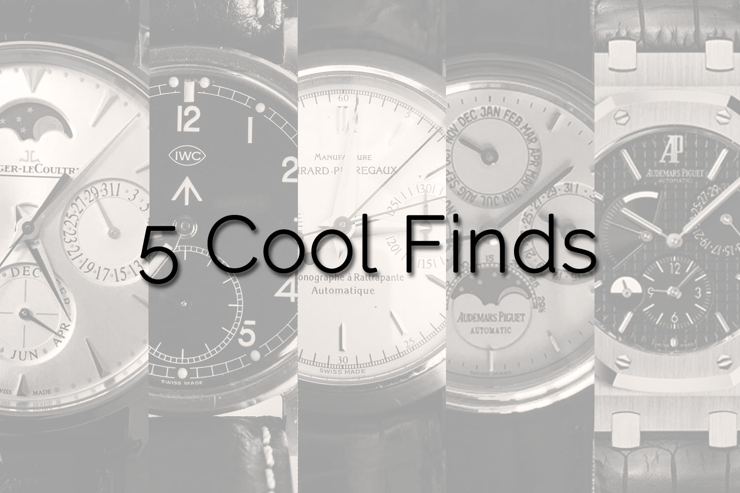5 Cool Finds - Week 1