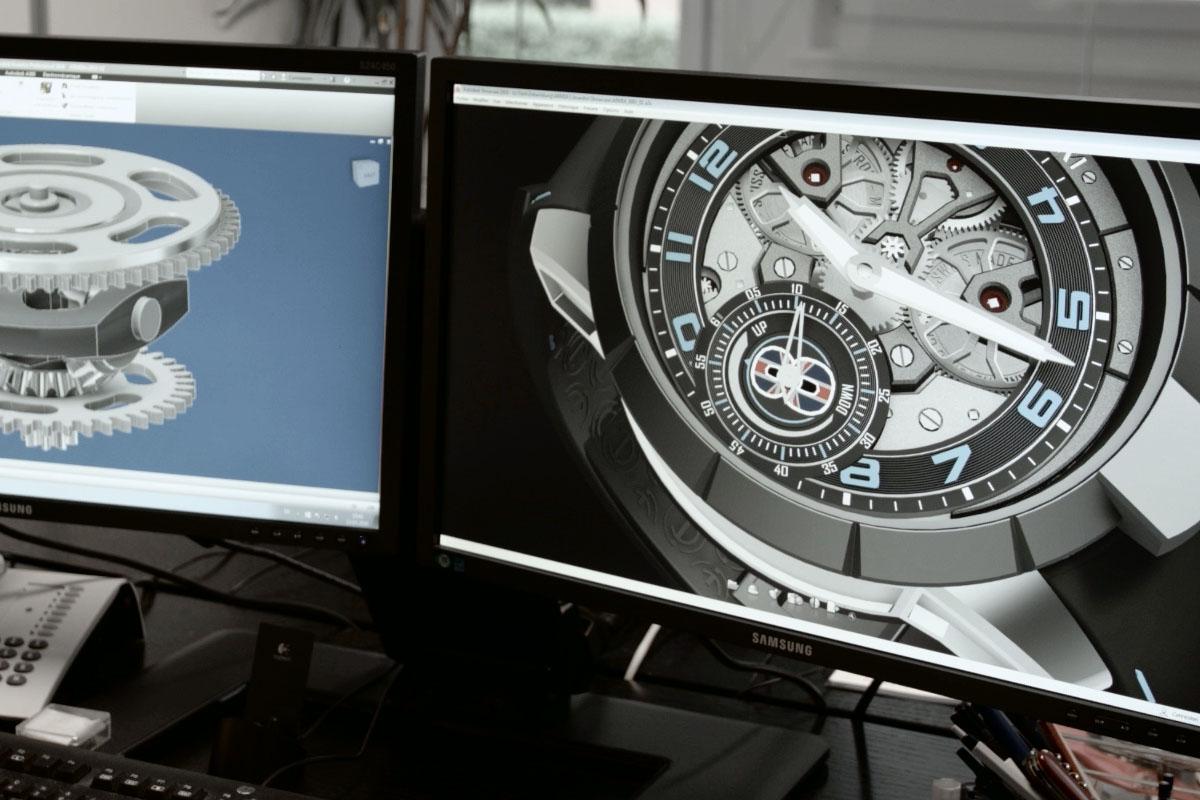 Armin Strom - 3D conception
