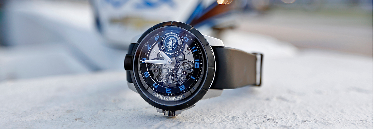 Armin Strom Edge Double Barrel Edition Max Chilton