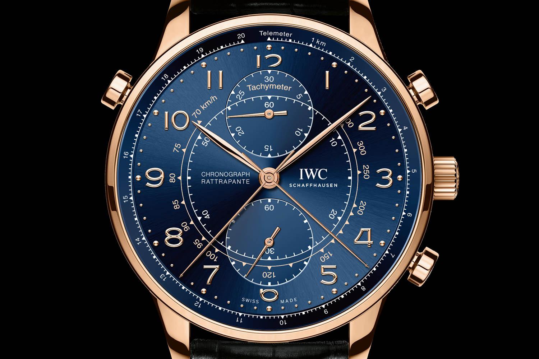 IWC Portugieser Chronograph Rattrapante Edition Boutique Milano - Ref. IW371215