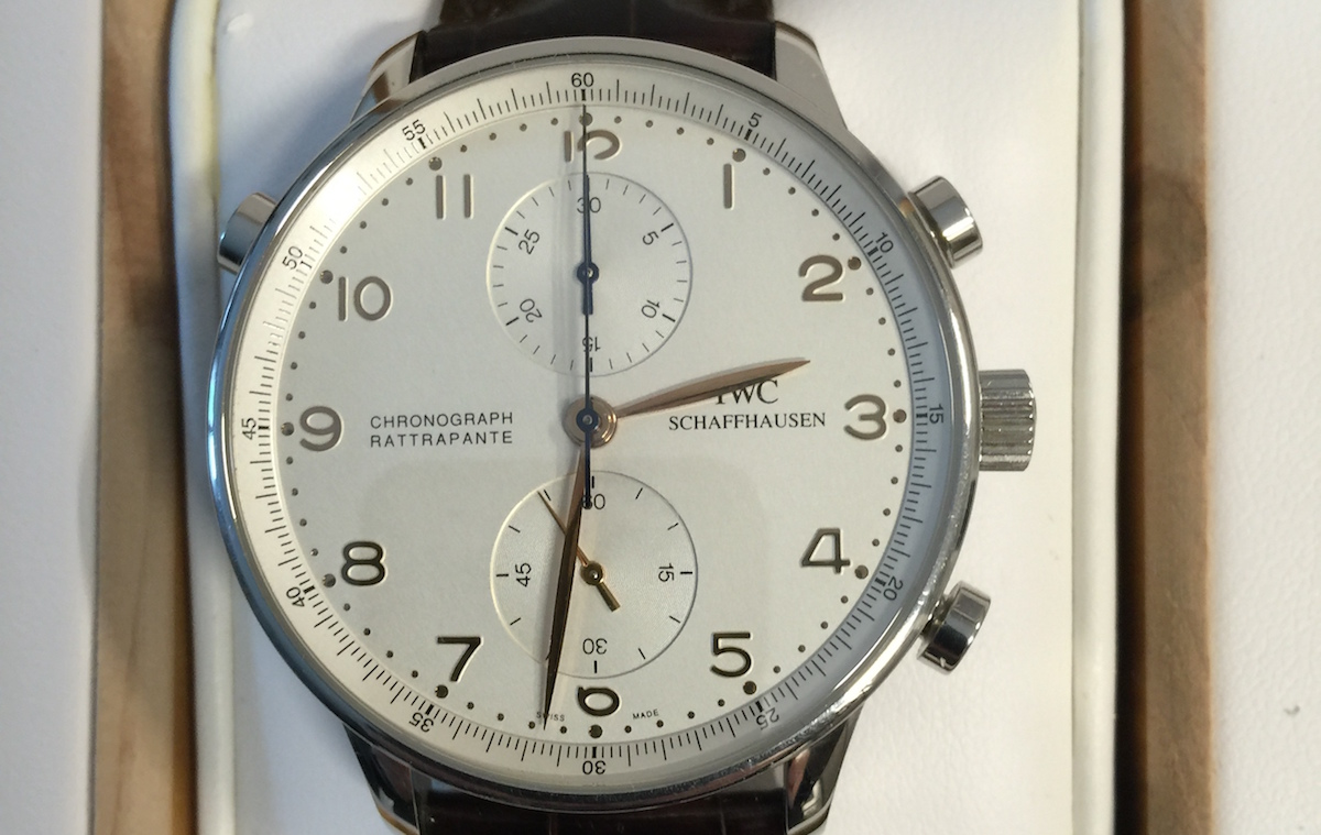 IWC Portuguese Rattrapante Chronograph - Catawiki 5 Cool Finds - 1