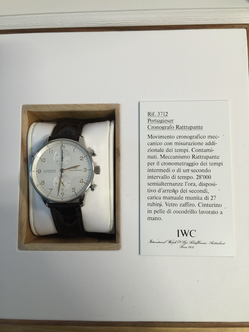 IWC Portuguese Rattrapante Chronograph - Catawiki 5 Cool Finds - 3