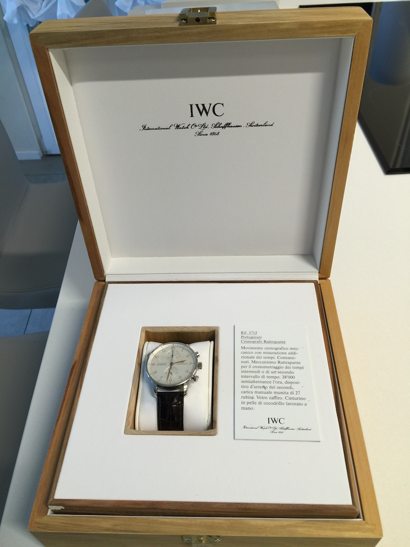 IWC Portuguese Rattrapante Chronograph - Catawiki 5 Cool Finds - 4