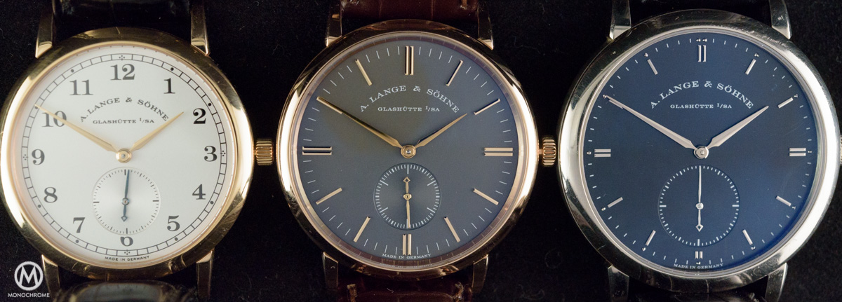 Lange Sohne Saxonia Boutique Edition pink gold Grey Dial - review