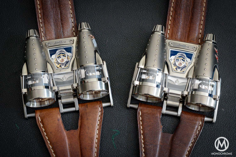 MB&F HM4 Razzle Dazzle - HM4 Double Trouble
