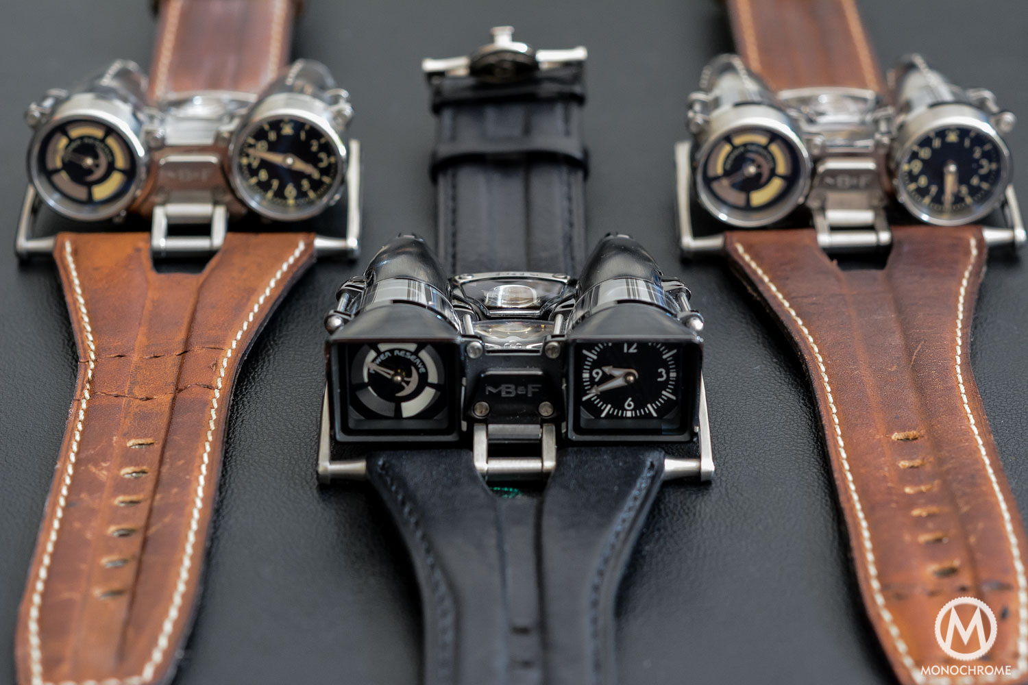 MB&F HM4 Razzle Dazzle - MB&F HM4 Double Trouble - MB&F HM4 Final Edition