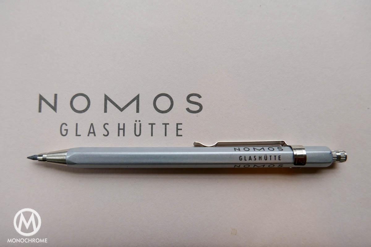 Nomos pencil and card set
