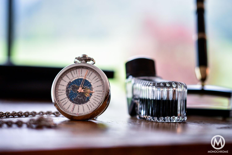 Montblanc 4810 Orbis Terrarum Pocket Watch 110 years Edition - 8