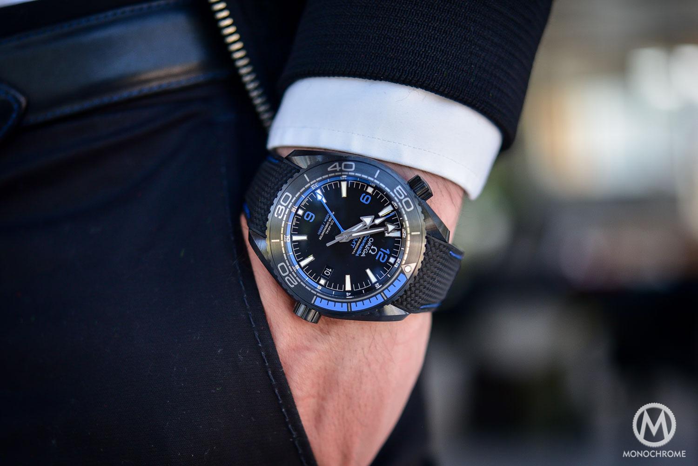Omega Seamaster Planet Ocean Deep Black - Black Blue