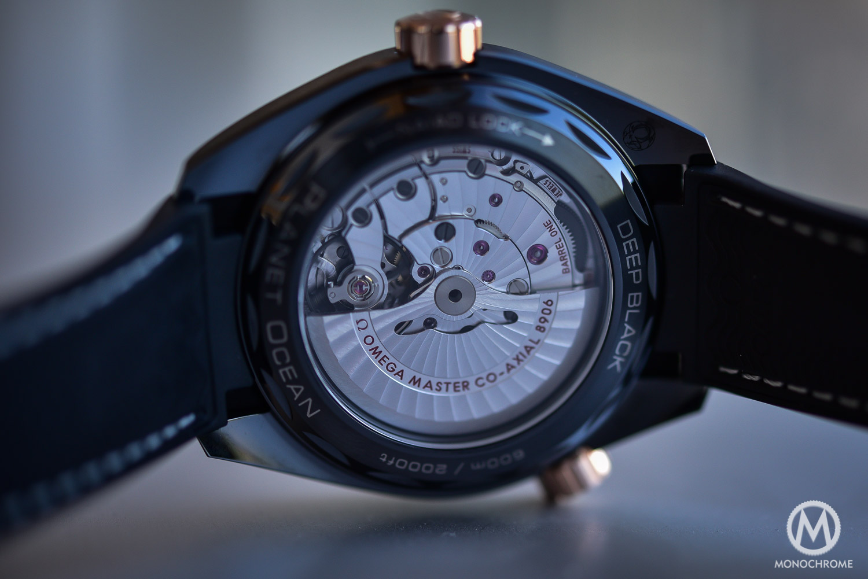 Omega Seamaster Planet Ocean Deep Black - Black Sedna Gold - Master Chronometer 8906