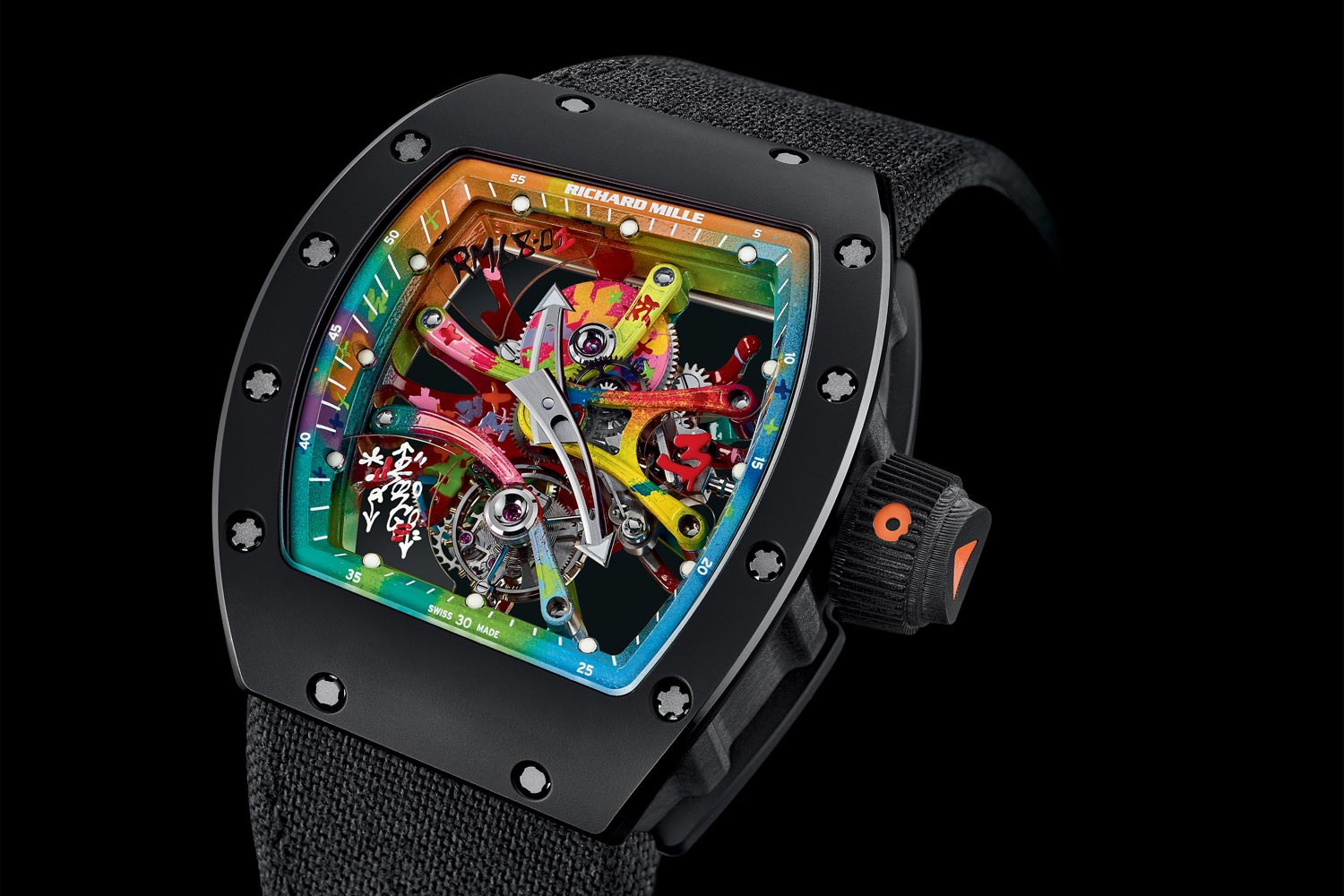 Introducing The Richard Mille Rm 68 01 Tourbillon Cyril Kongo