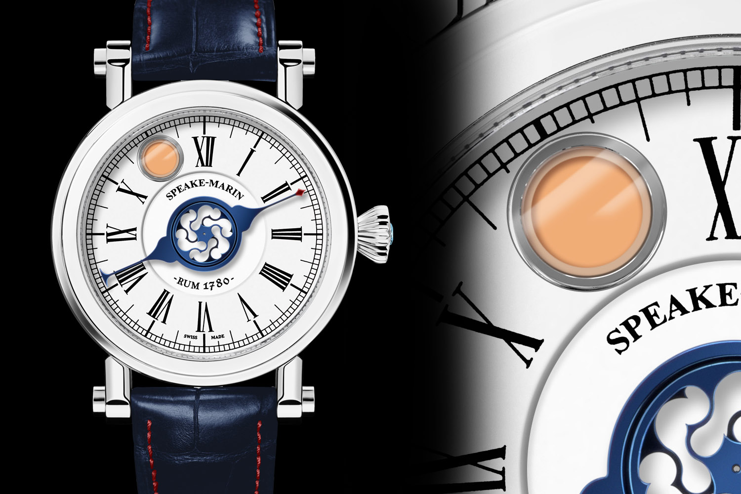 Speake Marin Velsheda Rum Watch