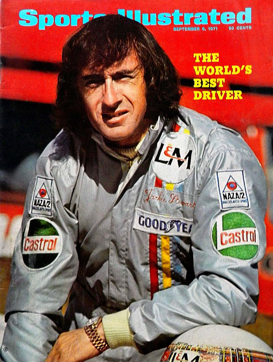 Sir Jackie Stewart in Sports Illustrated