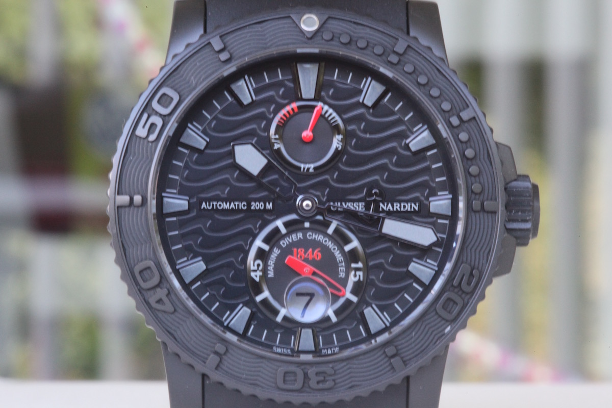 5 cool finds - Ulysse Nardin Black Ocean Maxi Marine Limited Edition - Catawiki - 1