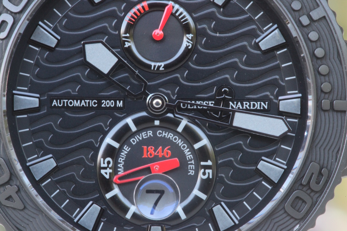 5 cool finds - Ulysse Nardin Black Ocean Maxi Marine Limited Edition - Catawiki - 2