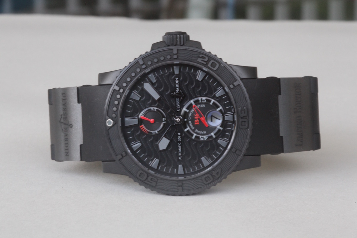 5 cool finds - Ulysse Nardin Black Ocean Maxi Marine Limited Edition - Catawiki - 3
