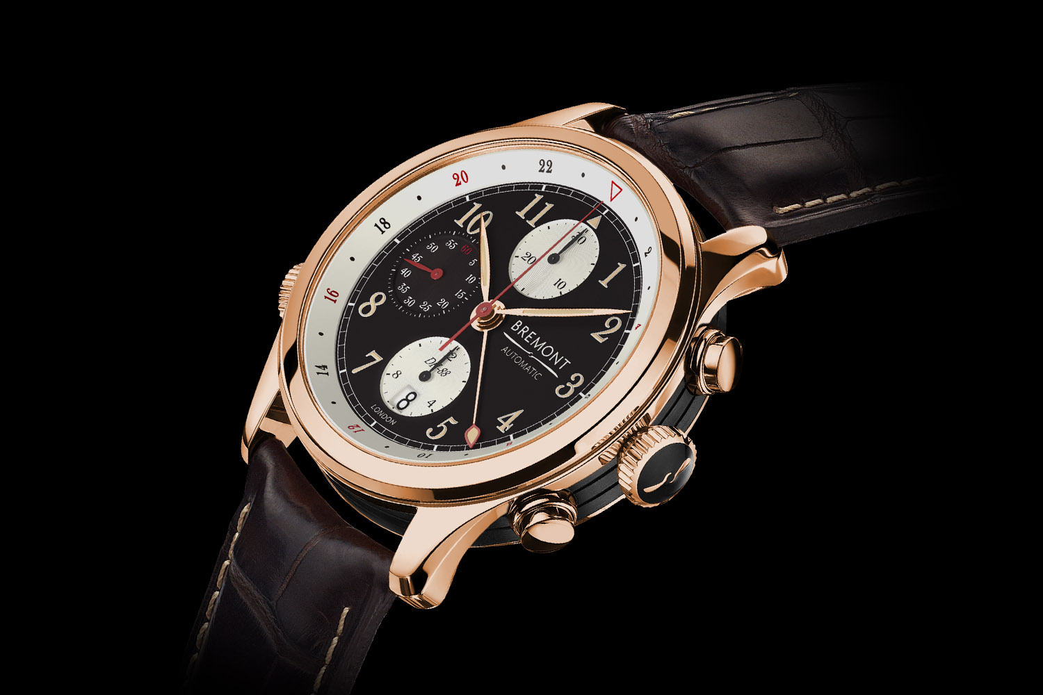 Bremont DH-88 Comet pink gold