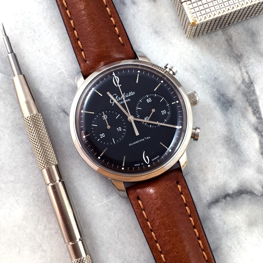 Glashutte Original Senator Sixties chronograph