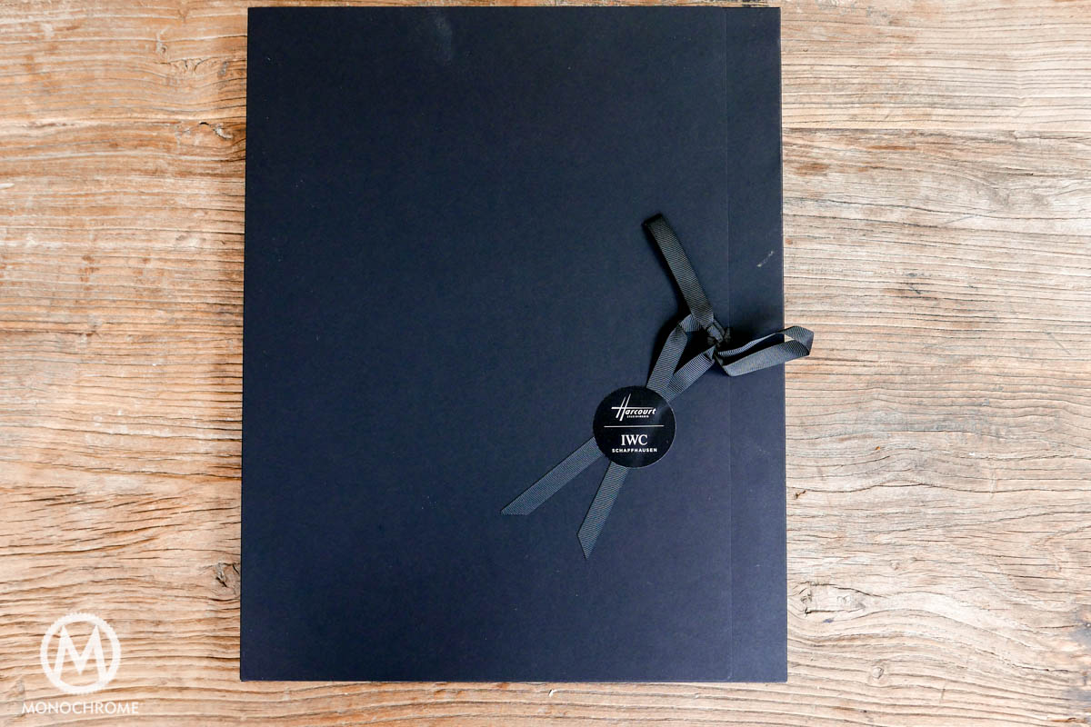 IWC coffee table book by Harcourt