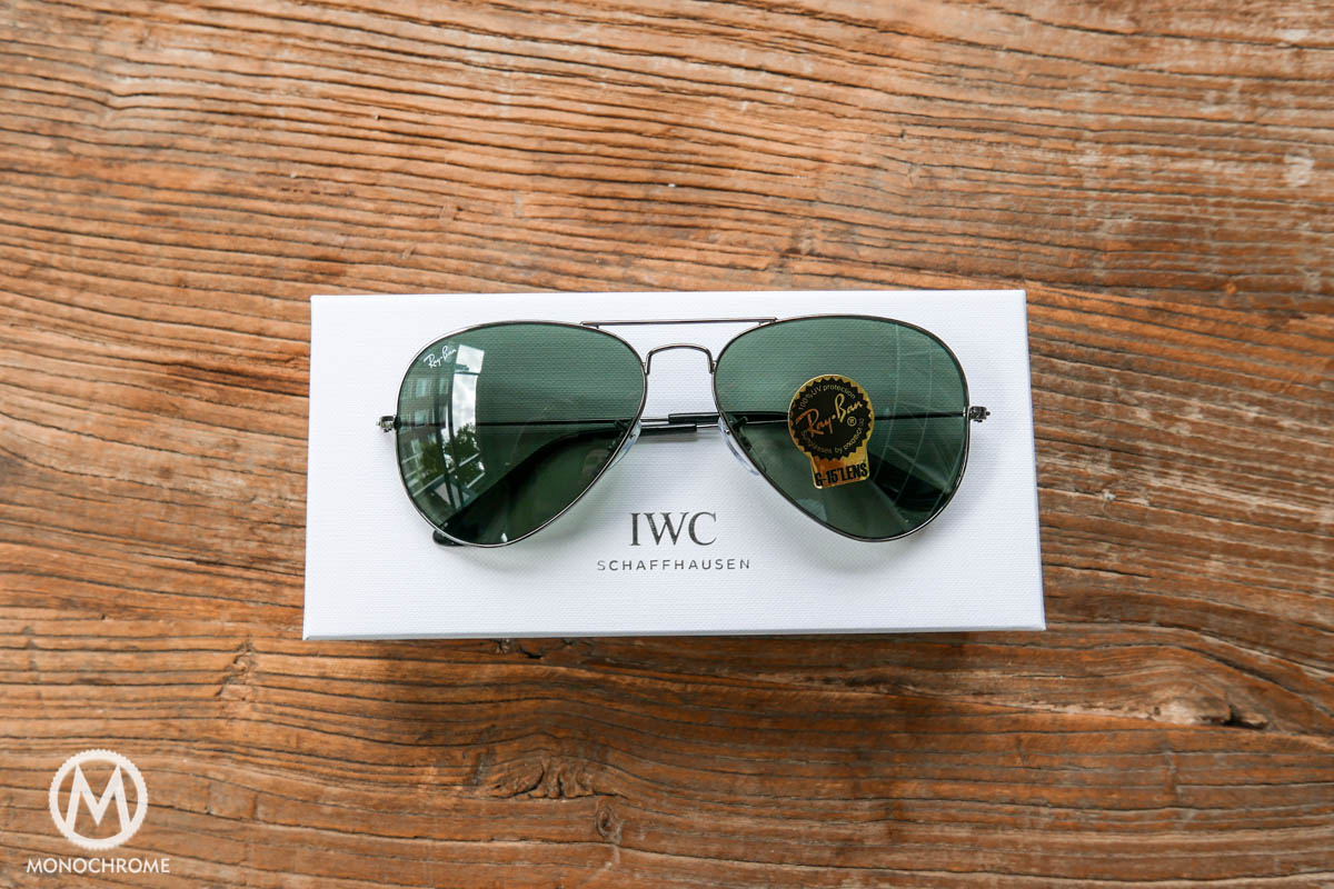 005ed93116 IWC Pilot Glasses by Ray-Ban