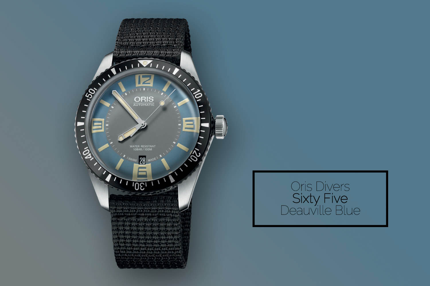 Oris Divers Sixty Five Deauville blue