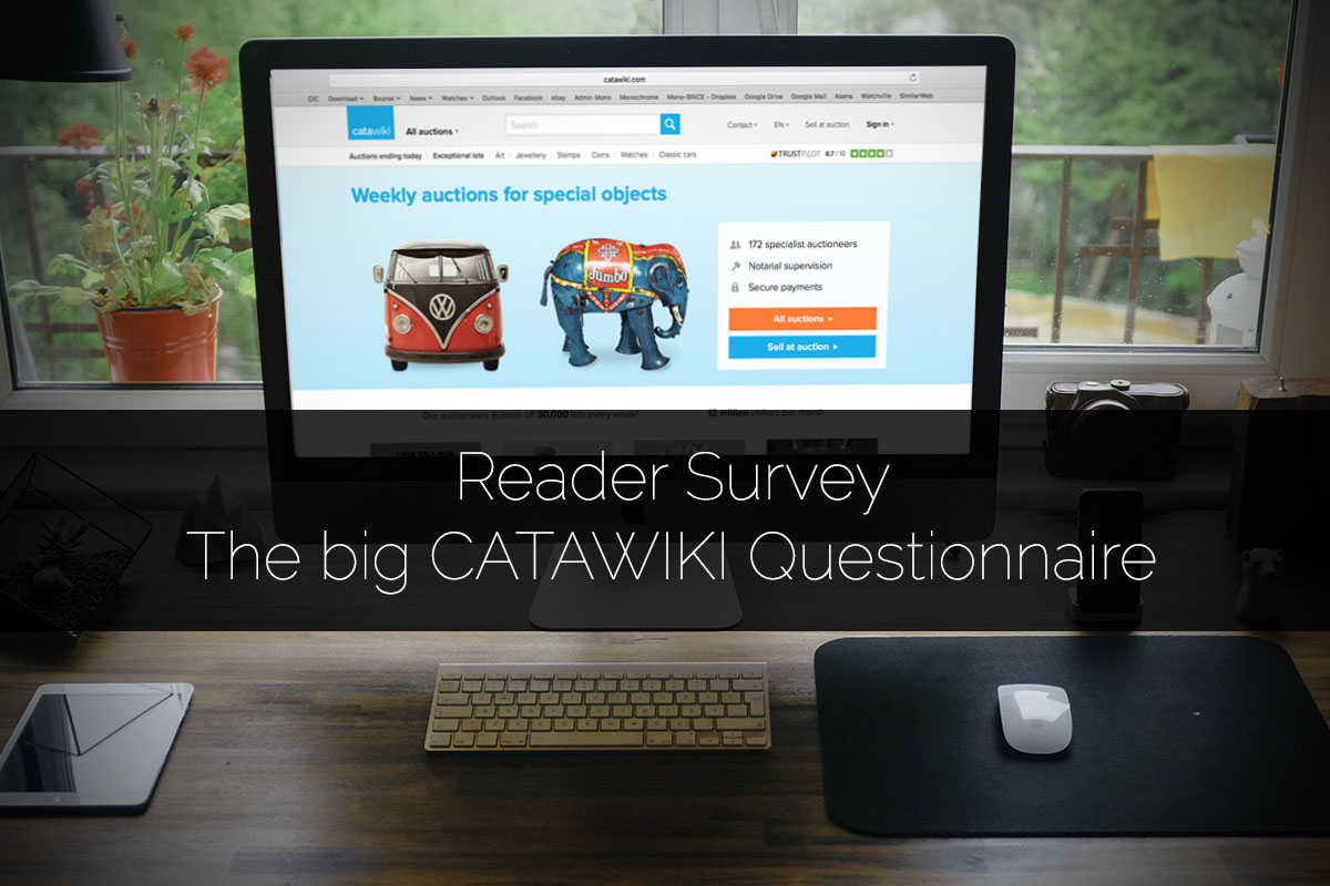reader survey - the big catawiki questionnaire