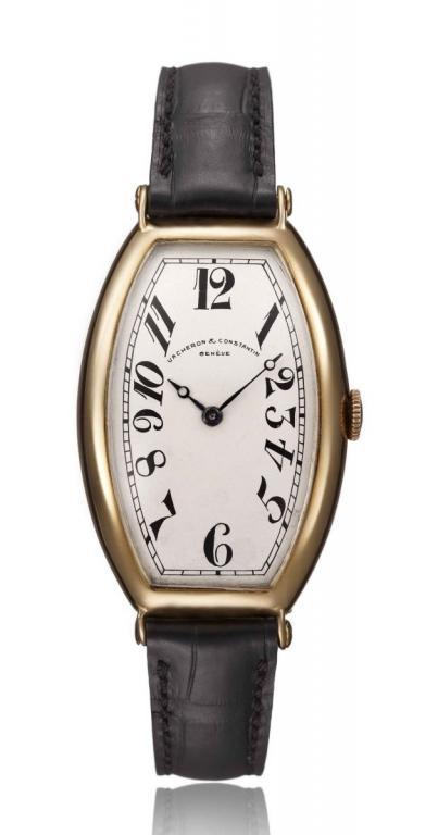 1915 tonneau bassiné - Shaped Watches by Vacheron Constantin and Patek Philippe