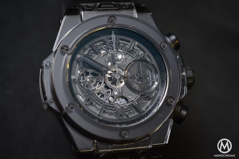 Hublot Big Bang Unico Sapphire All Black