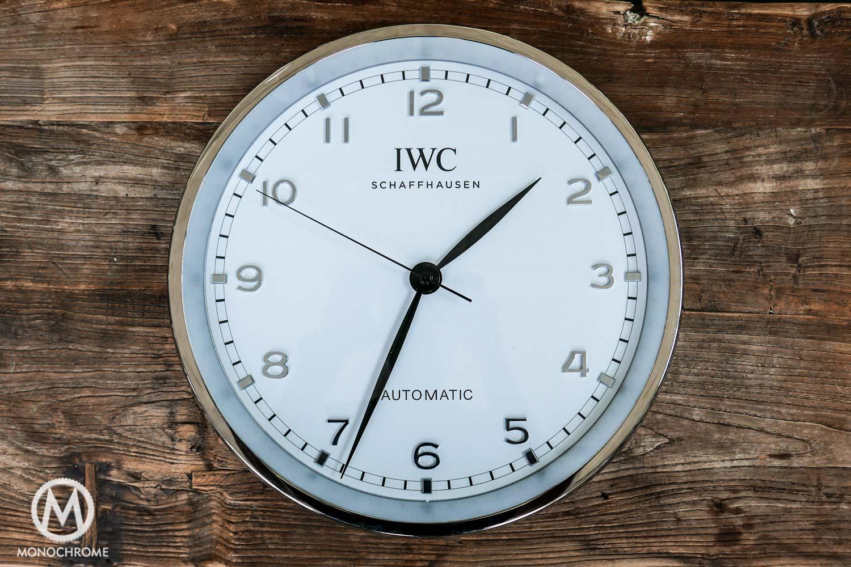 iwc wall clock