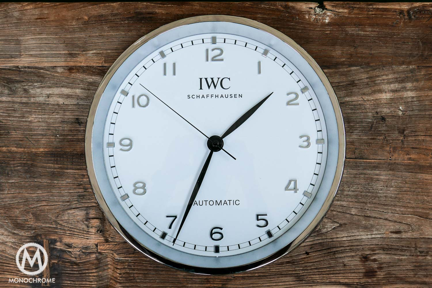 iwc wall clock