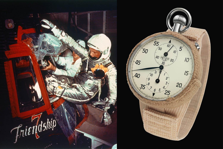 John Glenn Mercury - Heuer Stopwatch