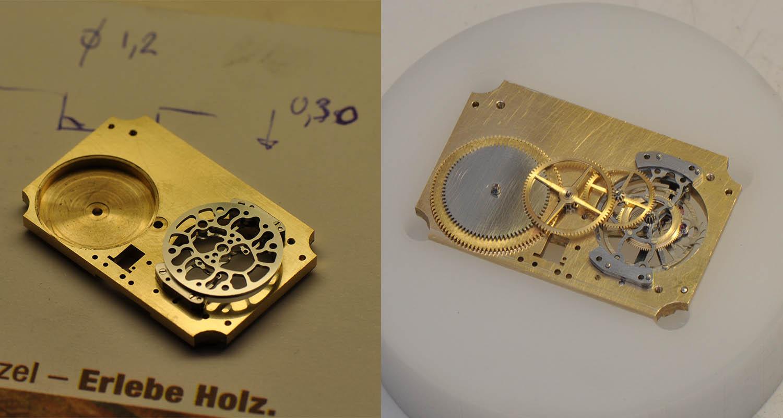 Kaj Korpela Timepiece No. 1 handmade tourbillon - 8