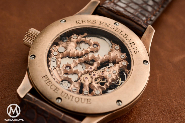 Kees Engelbarts Bronze Skeleton Tourbillon