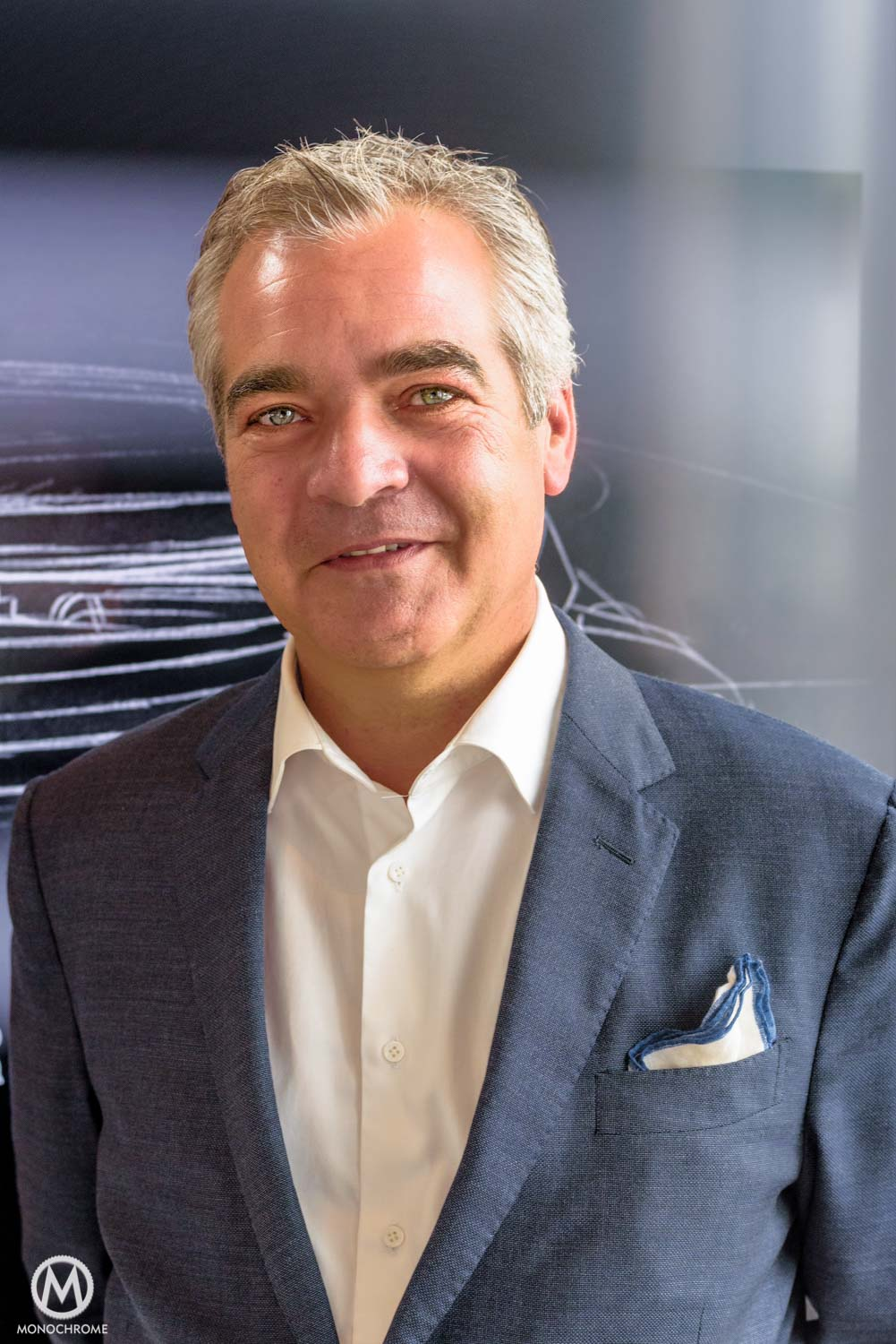 Our host Hans Dekkers, Brand manager Panerai Benelux and Scandinavia