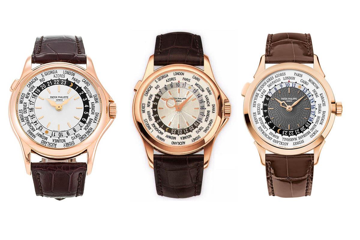 Patek Philippe World Time Evolution - 5110 - 5130 - 5230