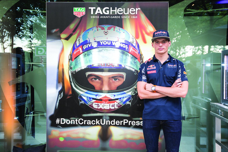 TAG Heuer Formula 1 Max Verstappen Special Edition