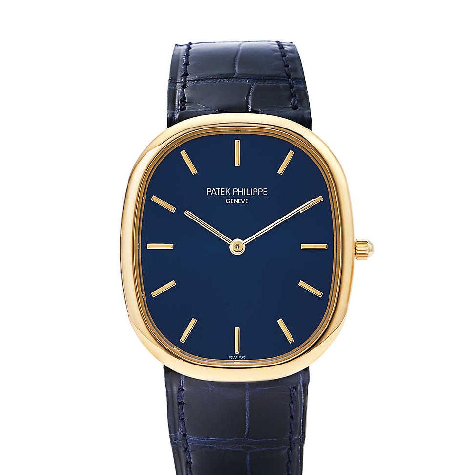 patek-philippe golden-ellipse - Shaped Watches by Vacheron Constantin and Patek Philippe