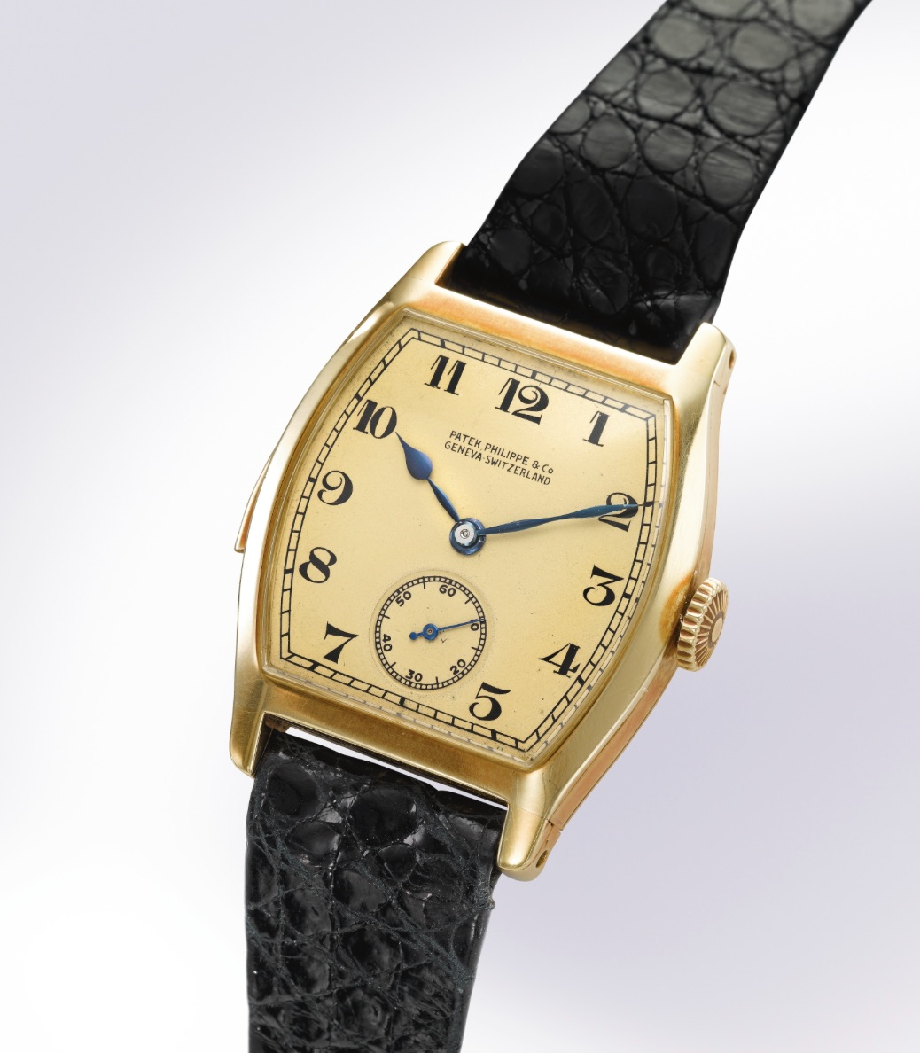patek philippe minute repeater tonneau henry graves - Shaped Watches by Vacheron Constantin and Patek Philippe