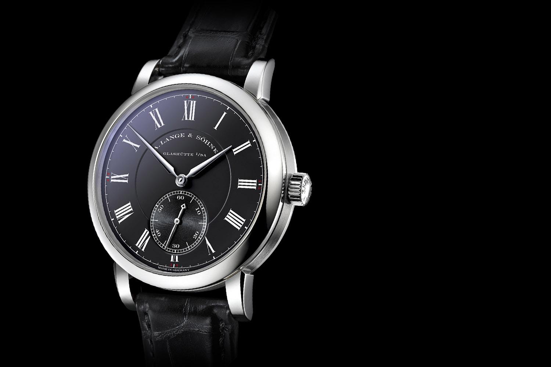 A. Lange Sohne Richard Lange Pour le Merite white gold black dial