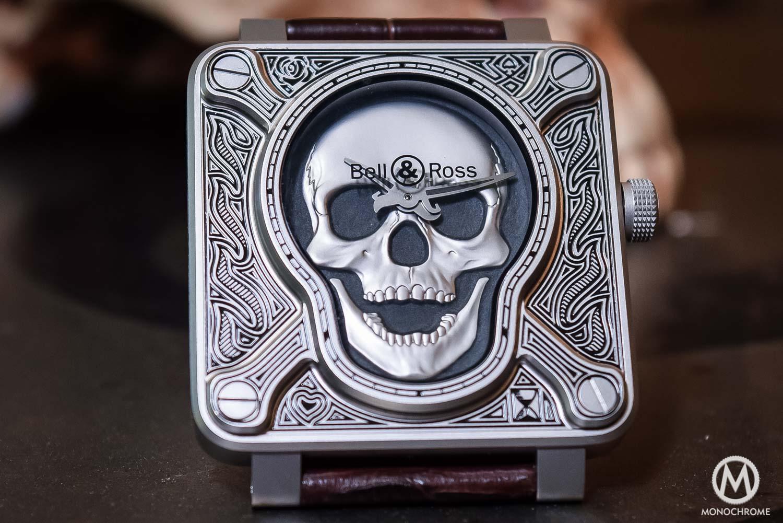 Bell Ross BR01 Burning Skull