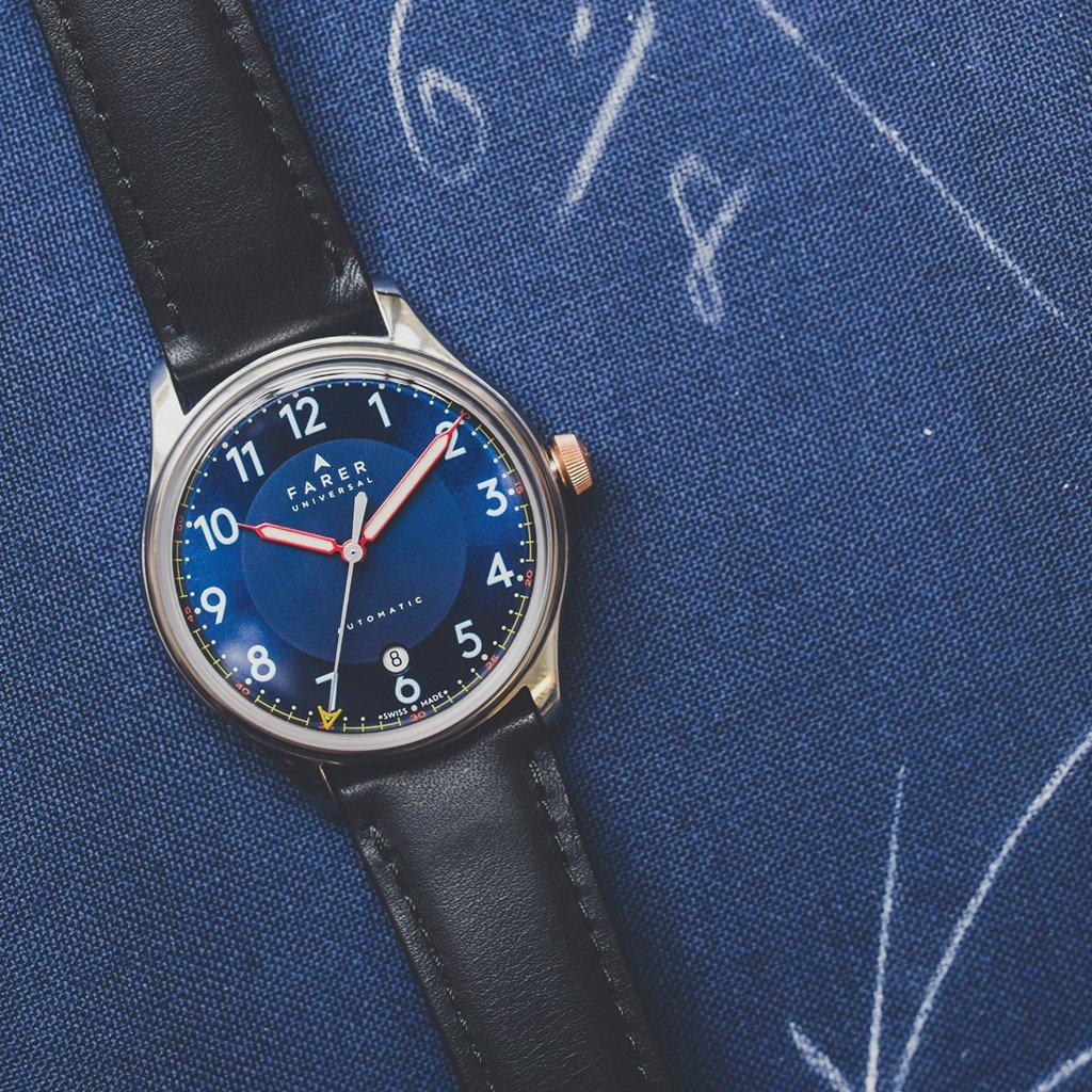 Farer Automatic Watches - British Design X Swiss Made