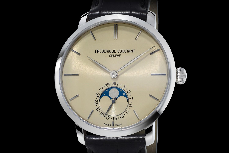 Frederique Constant Slimline Moonphase Manufacture