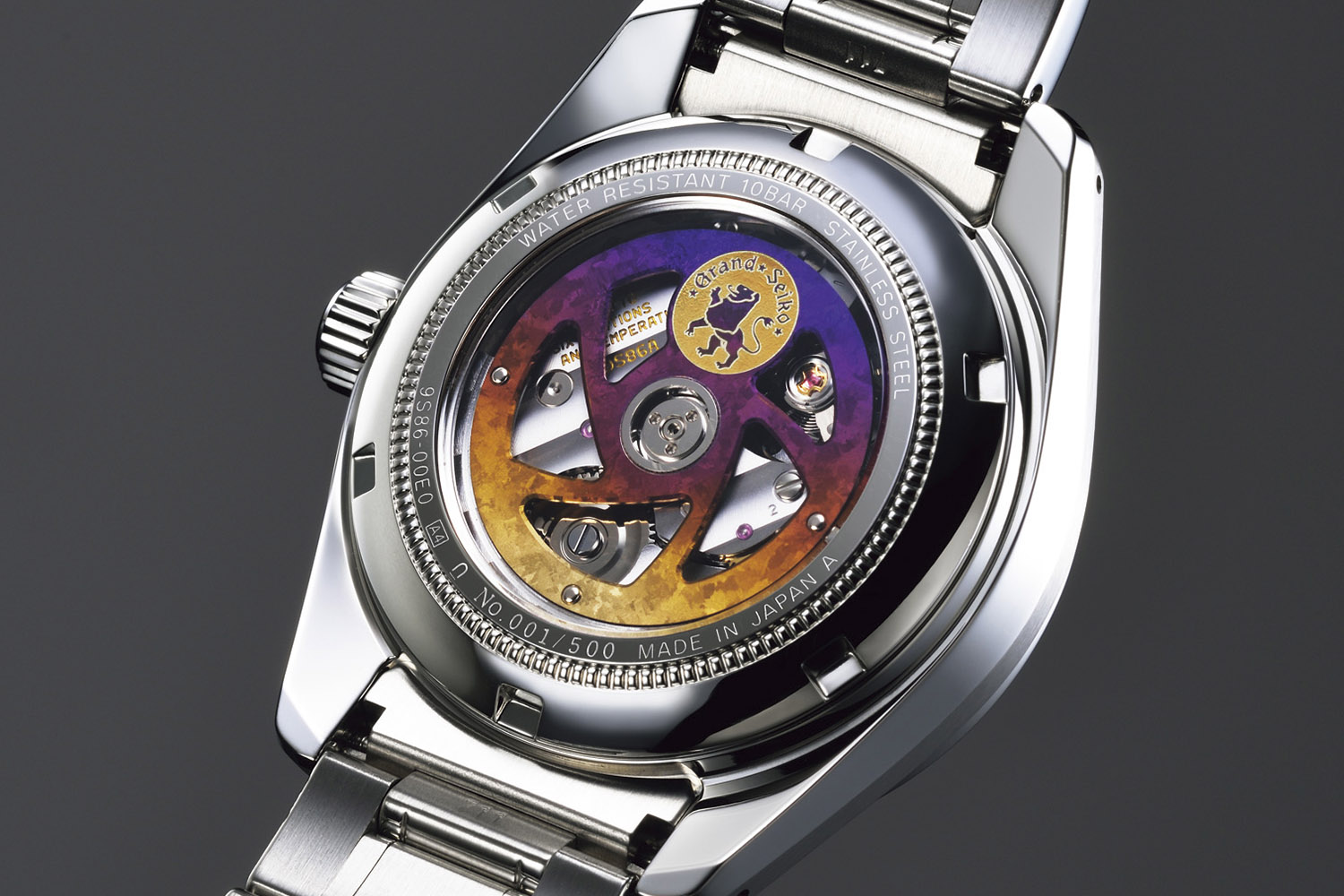 grand seiko hi-beat 36000 gmt limited edition sbgj021 - calibre 9S86