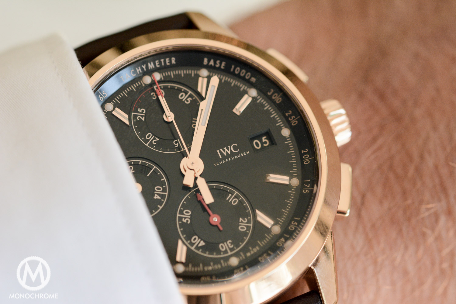 IWC Ingenieur Chronograph Edition Goodwood Members Meeting 74