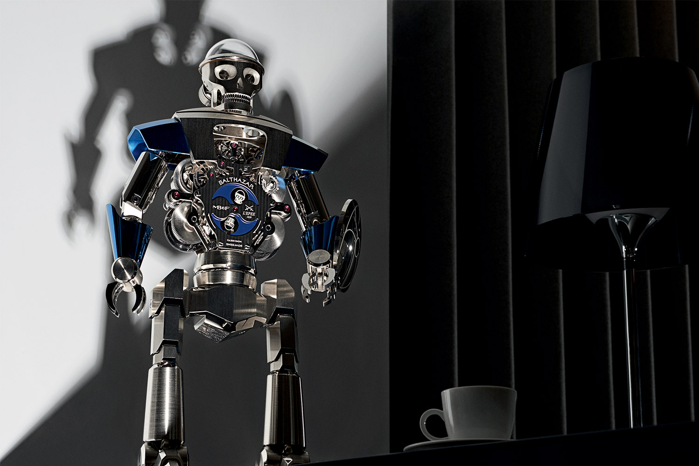 MBandF Balthazar Robot clock
