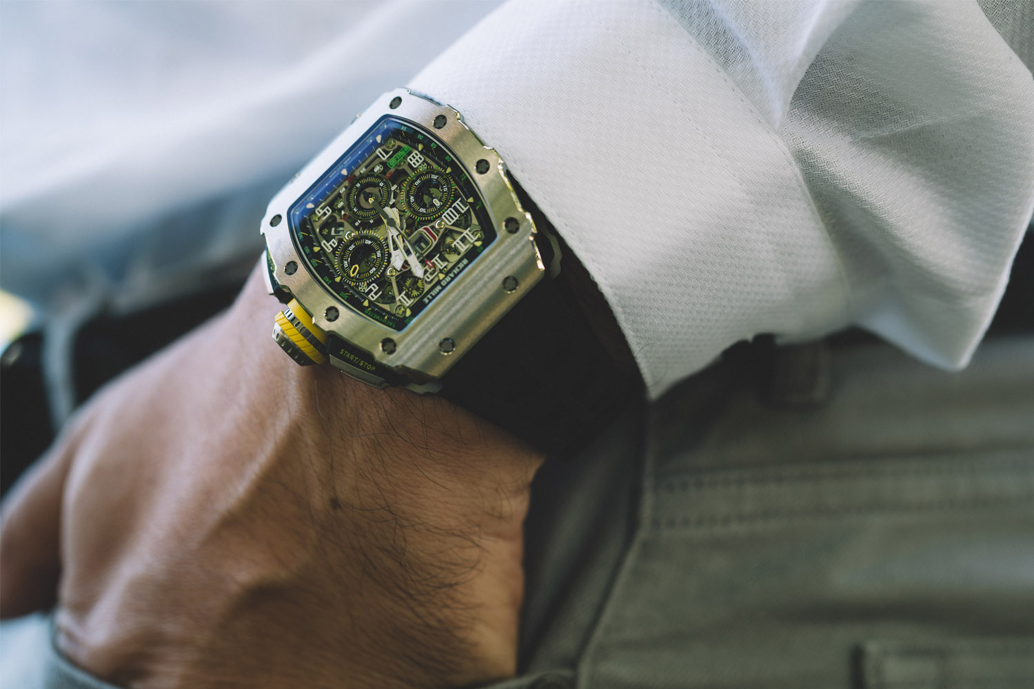 Richard Mille RM 11-03 Automatic Flyback Chronograph (credits: Alex Teuscher)